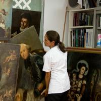 emma sanz restauracion arte madrid